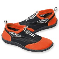 Cressi Strandschuh Reef - schwarz orange
