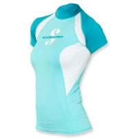 Scubapro T-Flex Lycra Shirt Damen - Caribian kurzarm UPF 80