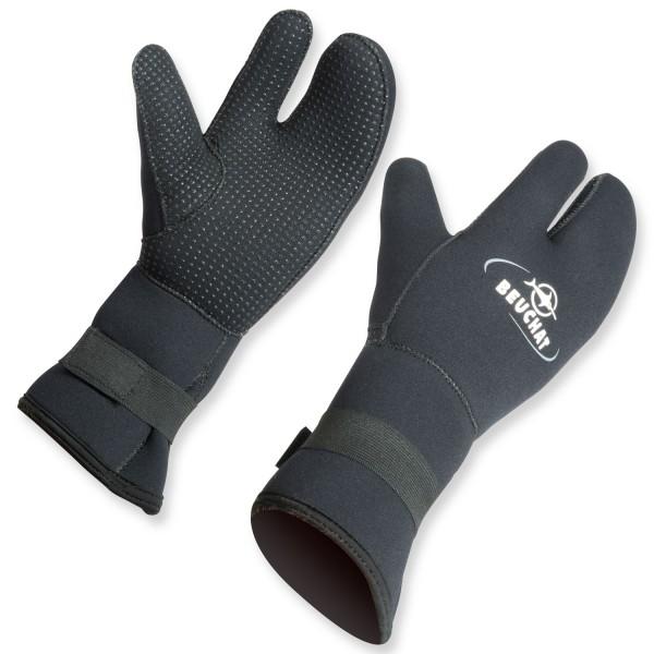 beuchat 3 finger handschuh aus 7 mm neopren super warm. Black Bedroom Furniture Sets. Home Design Ideas