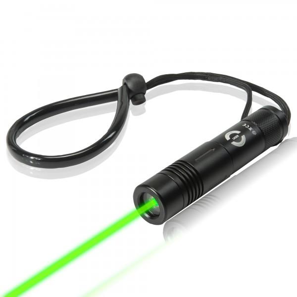 Unterwasser Laser grün - Laserpointer bis 100 m wasserdicht