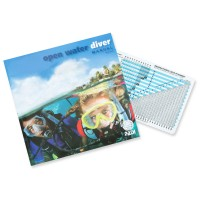 Padi-Manual Open-Water-Diver, mit RDP