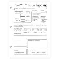 Log Page Refill von Padi, Logbucheinlagen