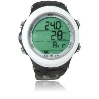 Aqualung Tauchcomputer i200 - Uhrenformat - Nitrox u. Pressluft - weiß