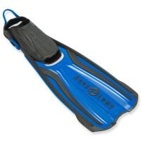 Schnorchelflosse Amika von Aqualung - in der Größe verstellbar - blau