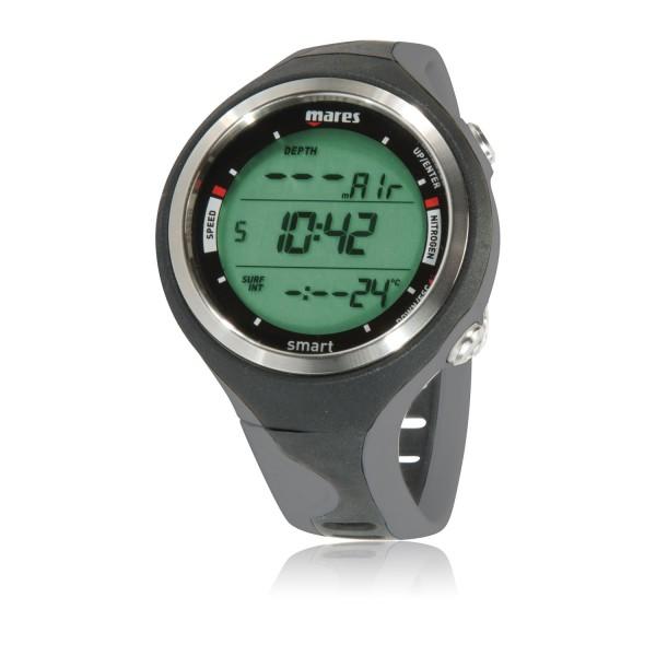 Mares Smart Tauchcomputer  - Uhrenformat, grau