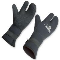 3 Finger Handschuh aus 7 mm Neopren von Beuchat, super warm