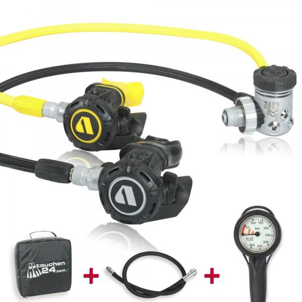 Apeks Atemregler XL 4 Komfort Sparset - geprüft und montiert