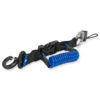 Scubapro Spiralkabel mit Schlüsselring und Schlaufe